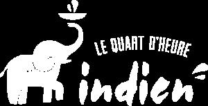 logo Le Quart d'Heure Indien blanc
