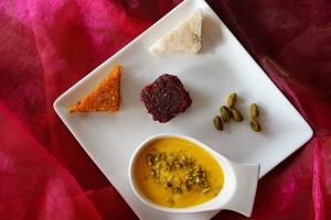 Dessert pâtisseries indiennes le Quart d'Heure Indien