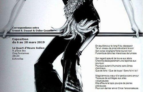 Exposition Correspondance entre Ernest B.Dauzat & Didier Gosselin