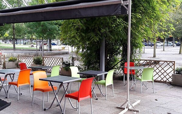 terrasse restaurant le Quart d'Heure Indien
